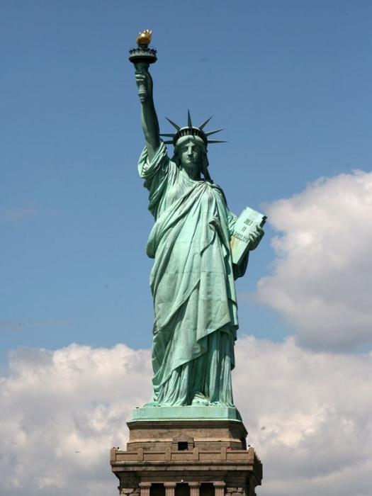 Где находится статуя свободы? География, история и факты...