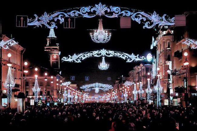 отметить новый год в санкт петербурге