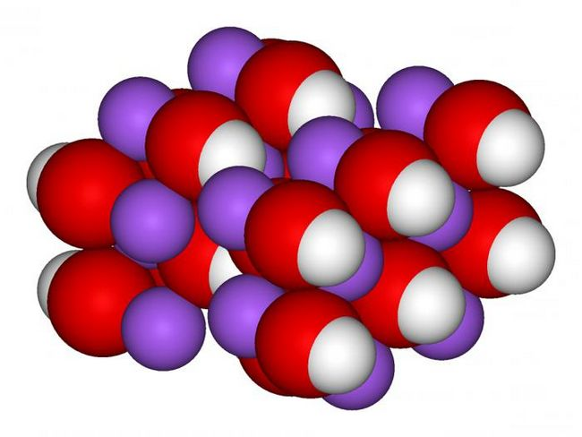 гидроксид натрия формула