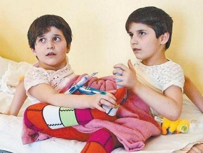 зита и гита резахановы в детстве