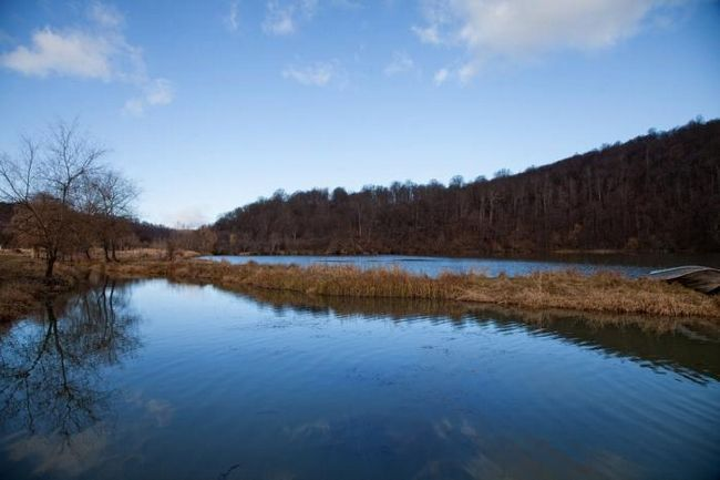 Голубые озера – главная достопримечательность кабардино-балкарии