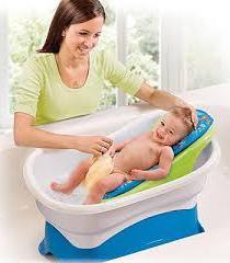 горка для купания новорожденного