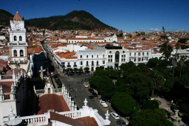 Город сукре - столица боливии