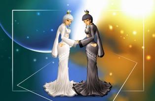 Гороскоп женщина-Близнецы мужчина-Водолей