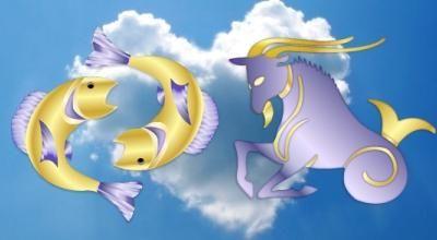 Любовь Рыбы и Козерога