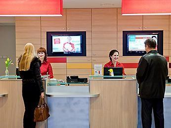 отдел регистрации в гостинице Ибис Самара