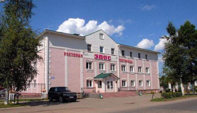 гостиница эпос осташков