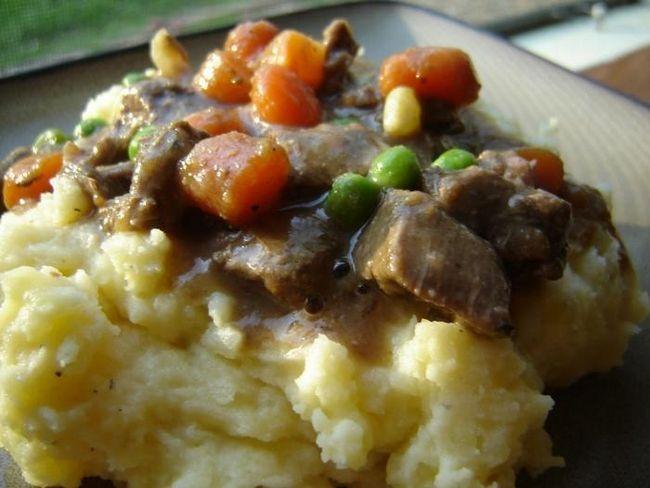 рецепт говядины с картошкой