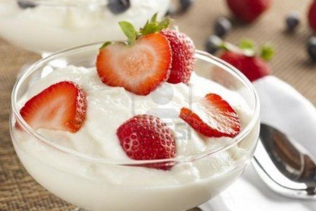 что приготовить из йогурта