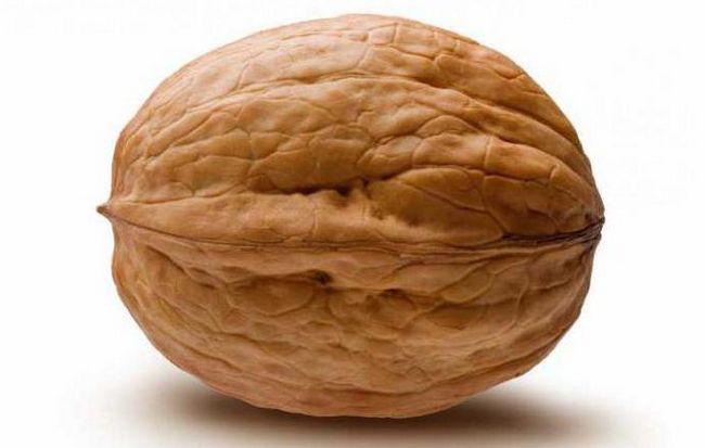 грецкий орех калорийность 1 шт
