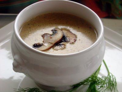 Грибной суп пюре из шампиньонов – круглогодичное лакомство для всей семьи