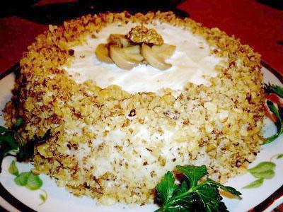 гусарский салат рецепт с сельдью