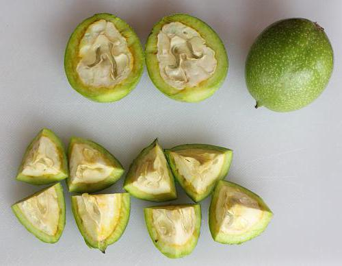 состав скорлупы грецкого ореха