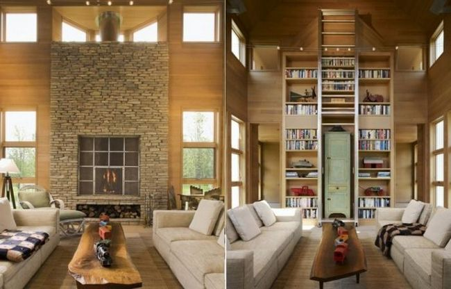 дизайн дачного дома внутри
