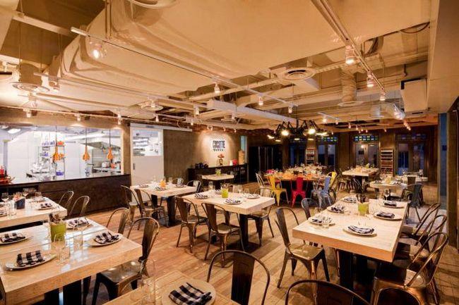 современный интерьер ресторанов