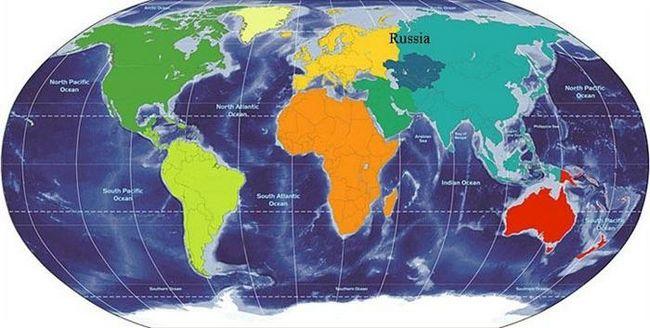 Интересно, а на каком материке находится россия?