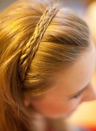как сделать косу вокруг головы