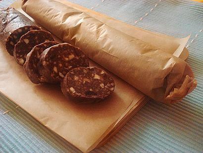Интересный рецепт: колбаска из печенья