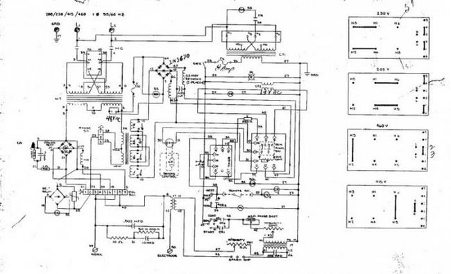 инверторные сварочные аппараты схема
