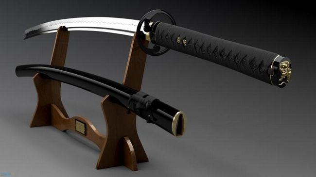Японский меч катана - самое совершенное холодное оружие в мире