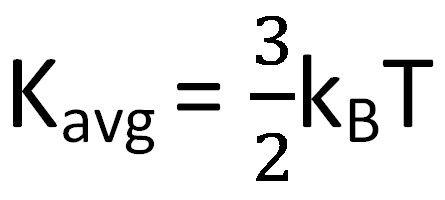кинетическая энергия молекул газа