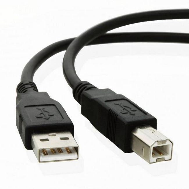 кабель для принтера hp