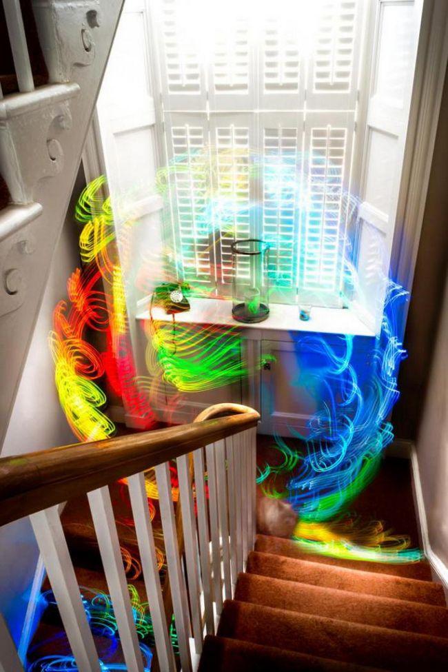 Как бы выглядел мир, если бы мы могли видеть wi-fi-сигналы?
