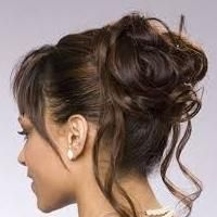 повседневная укладка волос средней длины