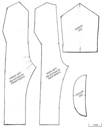 Как делается выкройка комбинезона