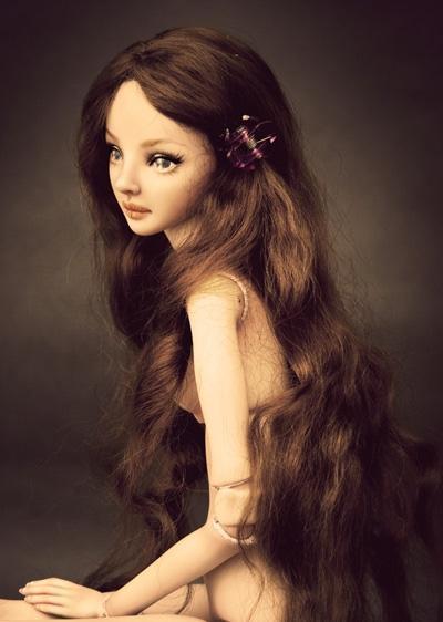 Как делаются шарнирные куклы своими руками