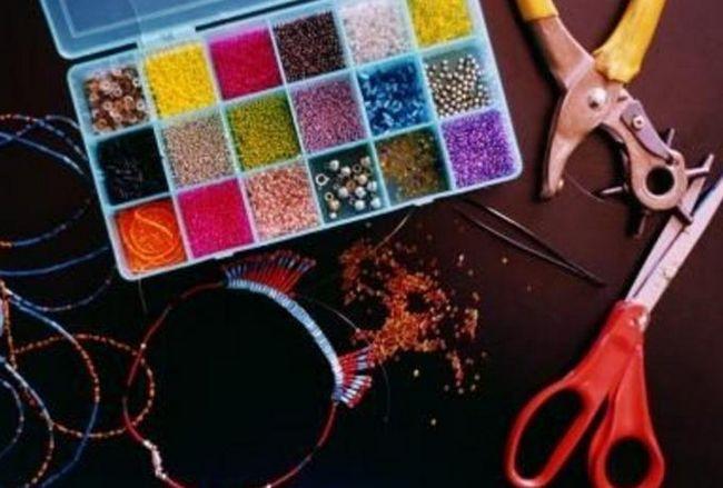 как делать браслеты из бисера