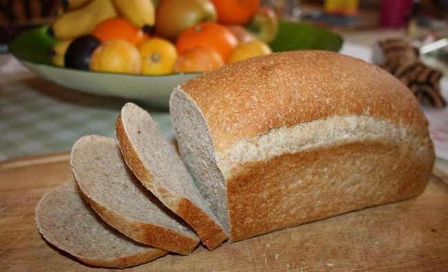 серый хлеб рецепт