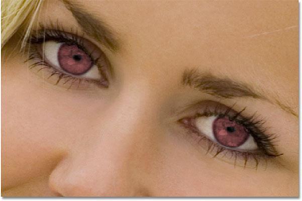 Как изменить цвет глаз в фотошопе: инструкция для новичков