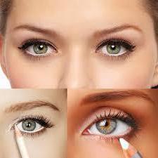 как накрасить маленькие глаза [