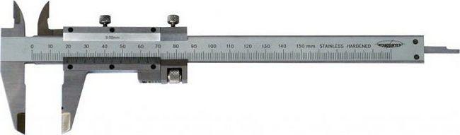 как мерить диаметр арматуры штангенциркулем