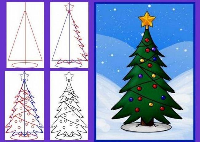 Как нарисовать дерево: мастер-классы на любой вкус