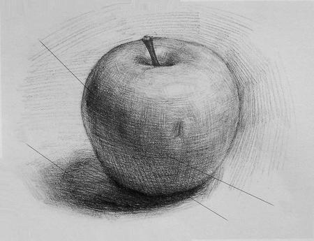 Как нарисовать яблоко: учимся видеть прекрасное в обычном