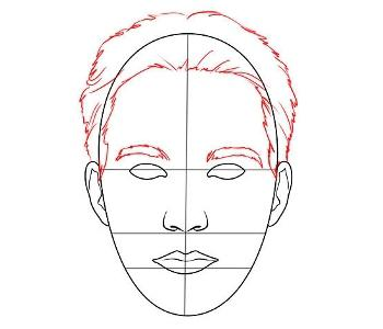 Как нарисовать лицо человека - некоторые хитрости для создания живой композиции