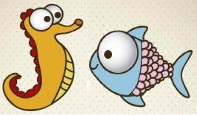 Как нарисовать рыбку и аквариум - два мастер-класса