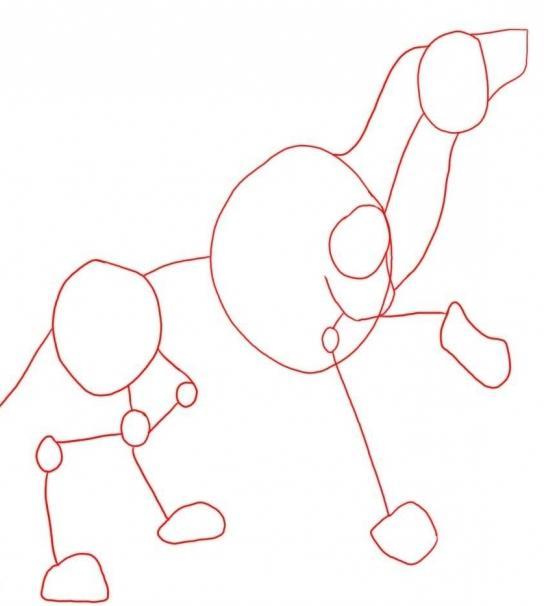 Как нарисовать волка карандашом - пошаговое рисование
