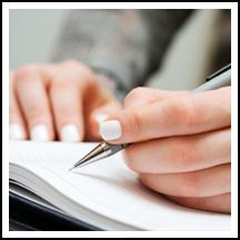 как научится красиво писать ручкой