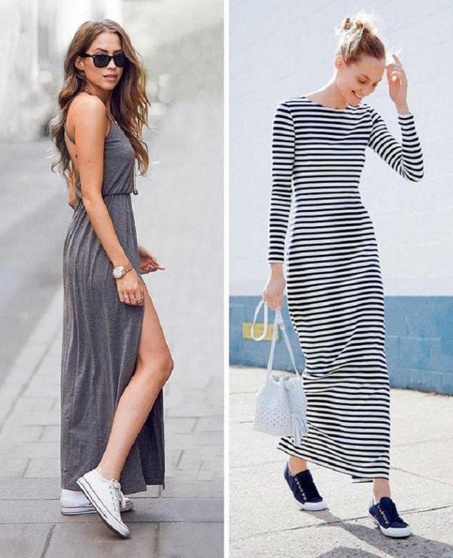Как носить платья-макси: 9 секретов идеального стиля