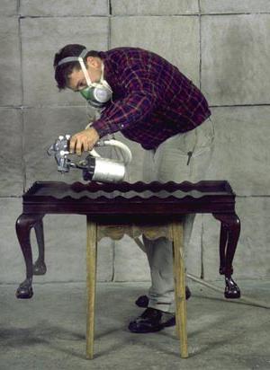 как отреставрировать деревянную мебель
