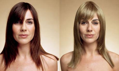 Как перекраситься из блондинки в брюнетку? Секреты парикмахера
