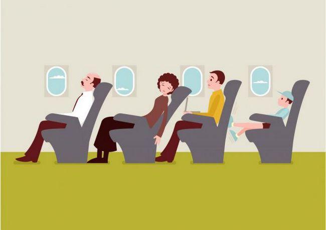 Как пережить очень длительный авиаперелет?