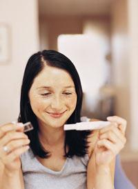 когда показывает тест на беременность