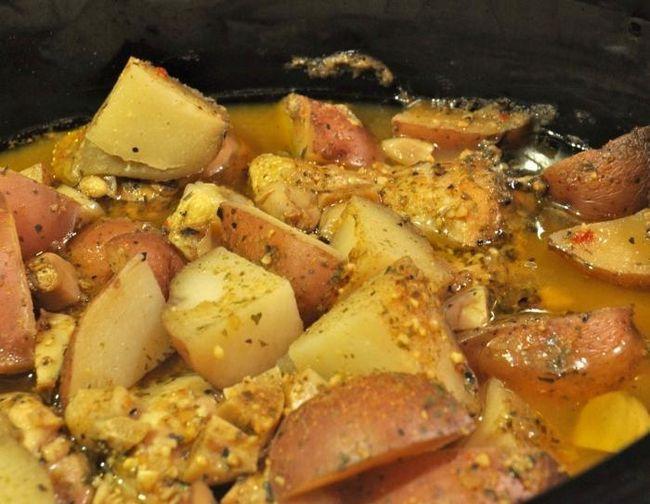 картошка с мясом фото рецепт
