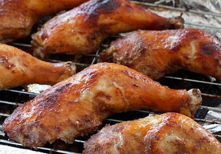 как приготовить курицу гриль