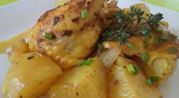 мультиварка рецепты курица с картошкой