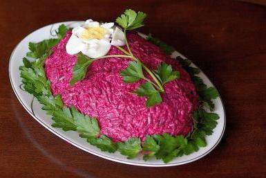 салат печень под шубой пошаговый рецепт